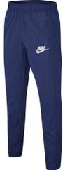 Nike Sportswear otroške hlače, temno modre