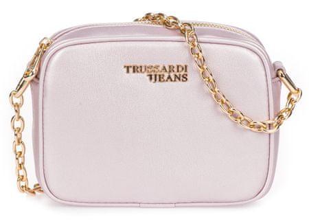 Trussardi Jeans ženska crossbody torbica, svijetlo ružičasta