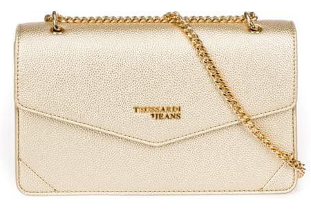 Trussardi Jeans 75B00831-9Y099999 ženska crossbody torbica, zlatna