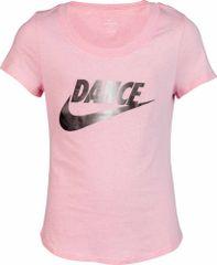 Nike Sportswear dekliška majica s kratkimi rokavi, roza