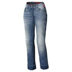 Held dámske moto jeansy CRACKERJANE II (dĺžka 34) modré