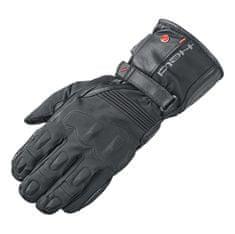 Held moto rukavice SATU 2v1 GORE-TEX černá, kůže/textil