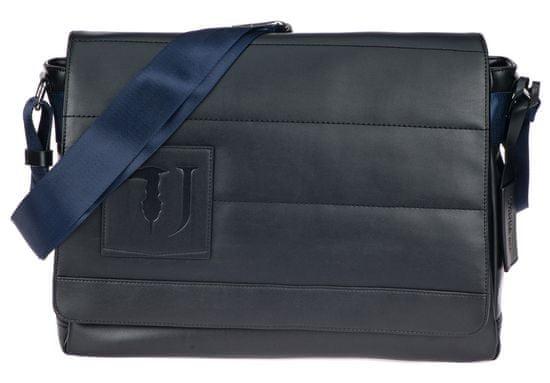 Trussardi Jeans pánská černá crossbody taška 71B00129-9Y099997