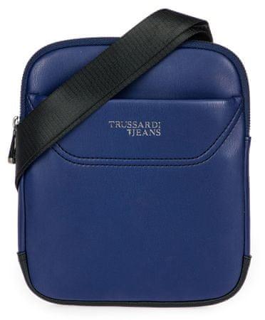 Trussardi Jeans 71B00117-9Y099995 uniseks crossbody torbica, temno modra