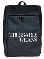 Trussardi Jeans unisex čierny batoh 71B00157-9Y099999