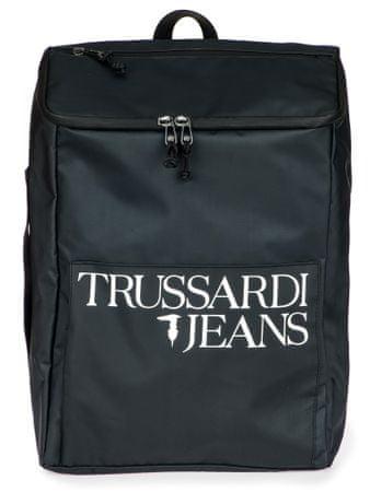 Trussardi Jeans unisex černý batoh 71B00157-9Y099999