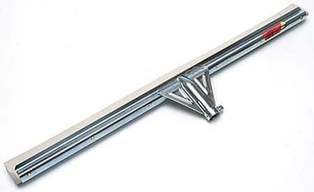AllServices Stěrka na podlahu kov 45 cm - bílá guma
