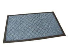 AllServices Rohožka textilný modrá Diamonds - 75 x 45 cm