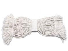 AllServices Mop dlouhé třásně 500 g prošité smyčky, bílý tkaloun