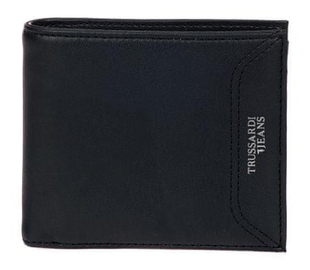 Trussardi Jeans férfi pénztárca 71W00079-9Y099995 fekete