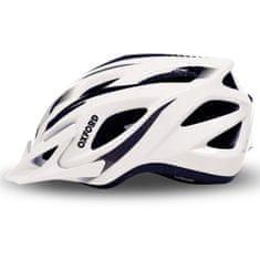 Oxford kolesarska čelada F21 Tornado, belo-črna, M