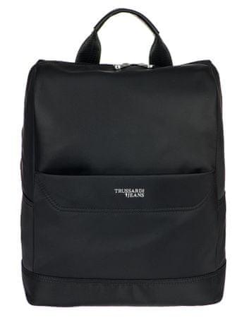 Trussardi Jeans 71B00166-9Y099996 uniseks nahrbtnik, črn