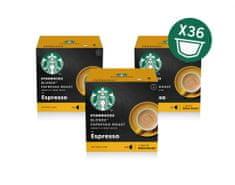 Starbucks Blonde Espresso Roast 12 kapszula, 66 g, 3 csomag