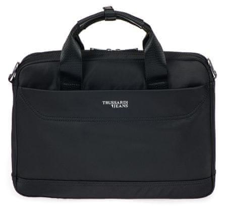 Trussardi Jeans 71B00170-9Y099996 uniseks poslovna torba, črna