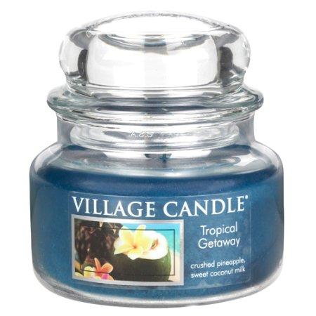 Village Candle Świeca w szklanym słoju Świeca wiejska, Weekend w tropikach, 312 g