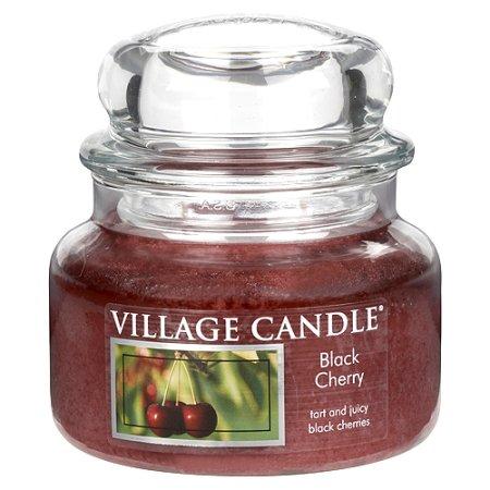 Village Candle Gyertya egy üvegedénybe falusi gyertya, Fekete cseresznye, 312 g
