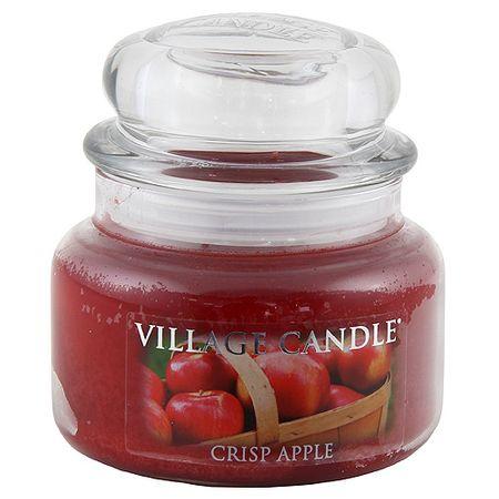 Village Candle Sveča v steklenem kozarcu Vaška sveča, Sveže jabolko, 312 g
