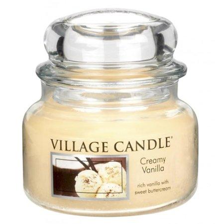 Village Candle Świeca w szklanym słoju Świeca wiejska, Lody waniliowe, 312 g