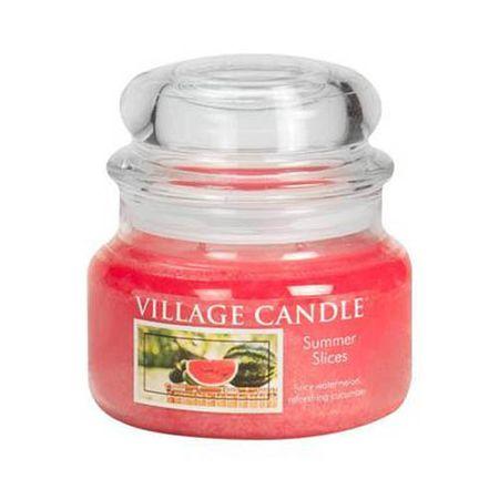 Village Candle Świeca w szklanym słoju Świeca wiejska, Letnie samopoczucie, 312 g