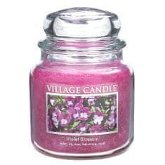 Village Candle Sviečka v sklenenej dóze , Fialka, 454 g