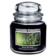 Village Candle Sviečka v sklenenej dóze , Čierny bambus, 454 g