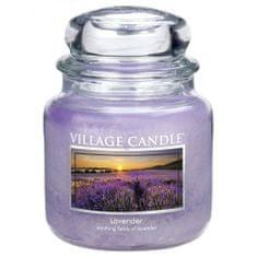 Village Candle Sviečka v sklenenej dóze , Levanduľa, 454 g