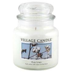 Village Candle Sviečka v sklenenej dóze , Čisté prádlo, 454 G