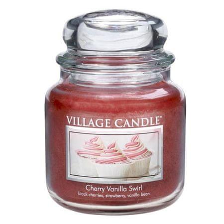 Village Candle Sveča v steklenem kozarcu Vaška sveča, Češnje in vanilija, 454 g