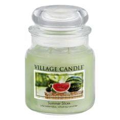 Village Candle Sviečka v sklenenej dóze , Letná pohoda, 454 g