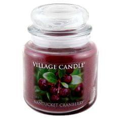 Village Candle Sviečka v sklenenej dóze Village Candle, Brusnice, 454 g