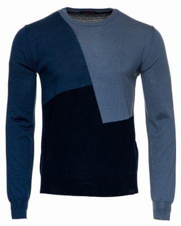 Trussardi Jeans sweter męski 52M00247-0F000429 M niebieski
