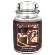 Village Candle Sviečka v sklenenej dóze , Čokoládová torta, 737 g