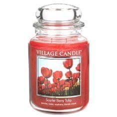 Village Candle Sviečka v sklenenej dóze , Tulipány, 737 g