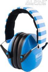 Alpine Ear Muffy Modrá Chrániče sluchu pro děti