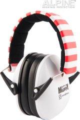Alpine Ear Muffy Bílá Chrániče sluchu pro děti