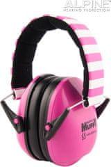 Alpine Ear Muffy Růžová Chrániče sluchu pro děti