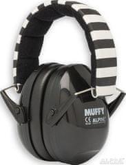 Alpine Ear Muffy Černá Chrániče sluchu pro děti
