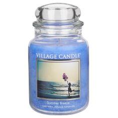 Village Candle Sviečka v sklenenej dóze , Letný vánok, 737 g