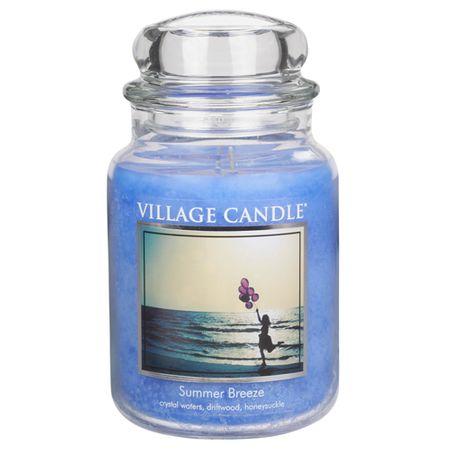 Village Candle Sveča v steklenem kozarcu Vaška sveča, Poletni vetrič, 737 g