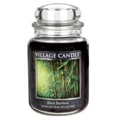 Village Candle Sviečka v sklenenej dóze Village Candle, Čierny bambus, 737 g