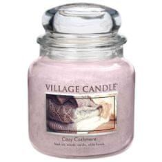 Village Candle Gyertya egy üvegedénybe falusi gyertya, Cashmere simogatás, 454 g