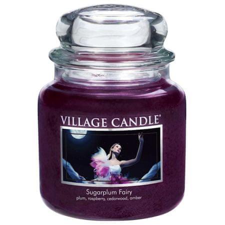 Village Candle Gyertya egy üvegedénybe falusi gyertya, Midnight Fairy, 454 g