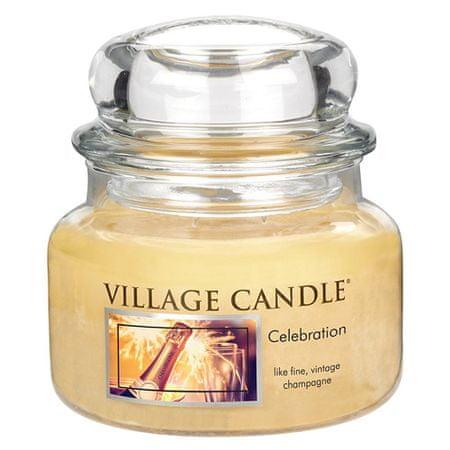 Village Candle Gyertya egy üvegedénybe falusi gyertya, Ünneplés, 312 g