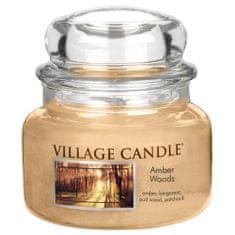 Village Candle Świeca w szklanym słoju Świeca wiejska, Bursztynowy Las, 312 g