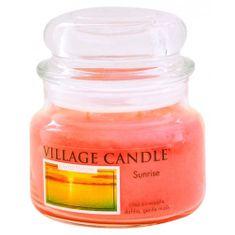 Village Candle Sviečka v sklenenej dóze , Východ slnka, 312 g