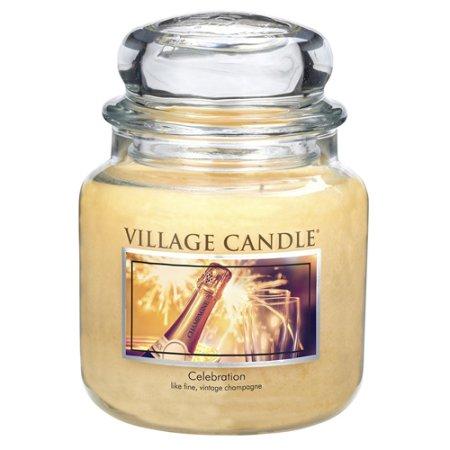 Village Candle Gyertya egy üvegedénybe falusi gyertya, Ünneplés, 454 g