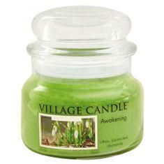 Village Candle Sveča v steklenem kozarcu Vaška sveča, Pomladno prebujanje, 312 g