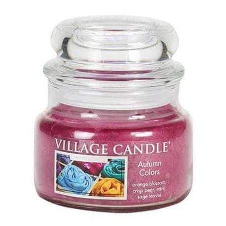 Village Candle Świeca w szklanym słoju Świeca wiejska, Długopisy żelowe Horses Dreams