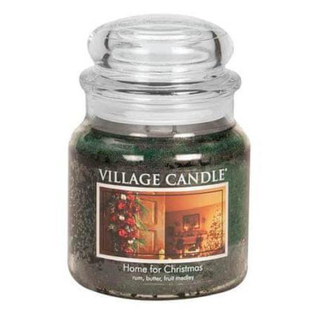 Village Candle Gyertya egy üvegedénybe falusi gyertya, Otthon karácsonyra, 454 g
