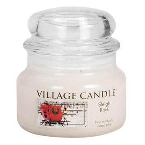 Village Candle Sviečka v sklenenej dóze , Zimná vychádzka, 312 g
